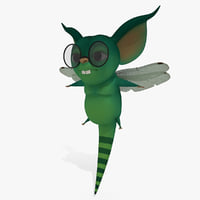 Cartoon Monster Cat-Fly
