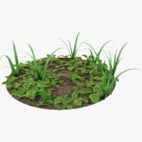 ground grass model