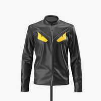 Leather Jacket Fendi