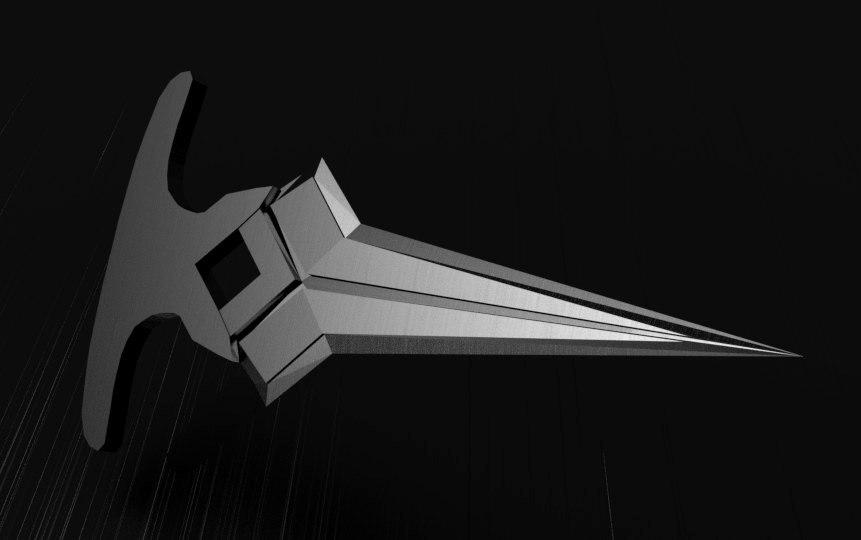push-dagger loki avengers 3D model