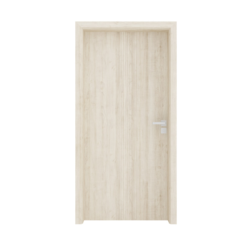 3D wooden interior door
