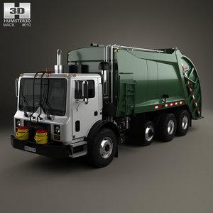 3D mack terrapro garbage