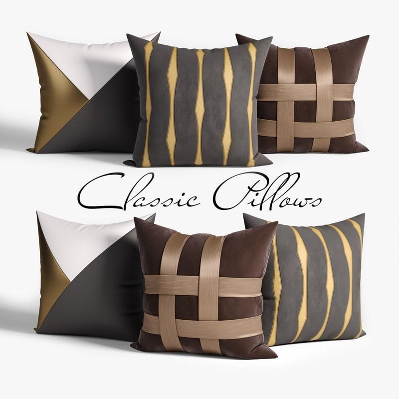 3D pillow model