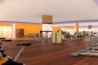 gymnasium room 3D model