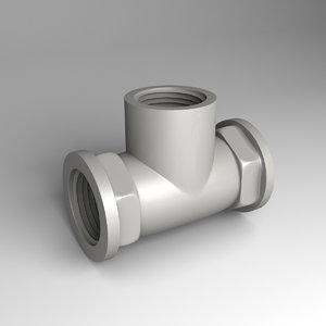 t joint 3D model