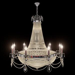 chandelier dio 3D