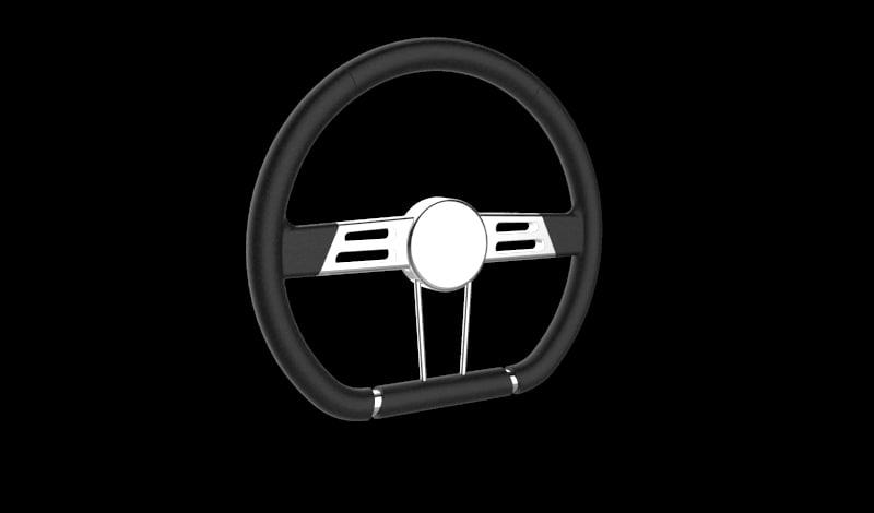 3D steer wheel