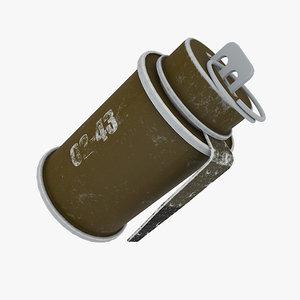 3D grenade rog 43