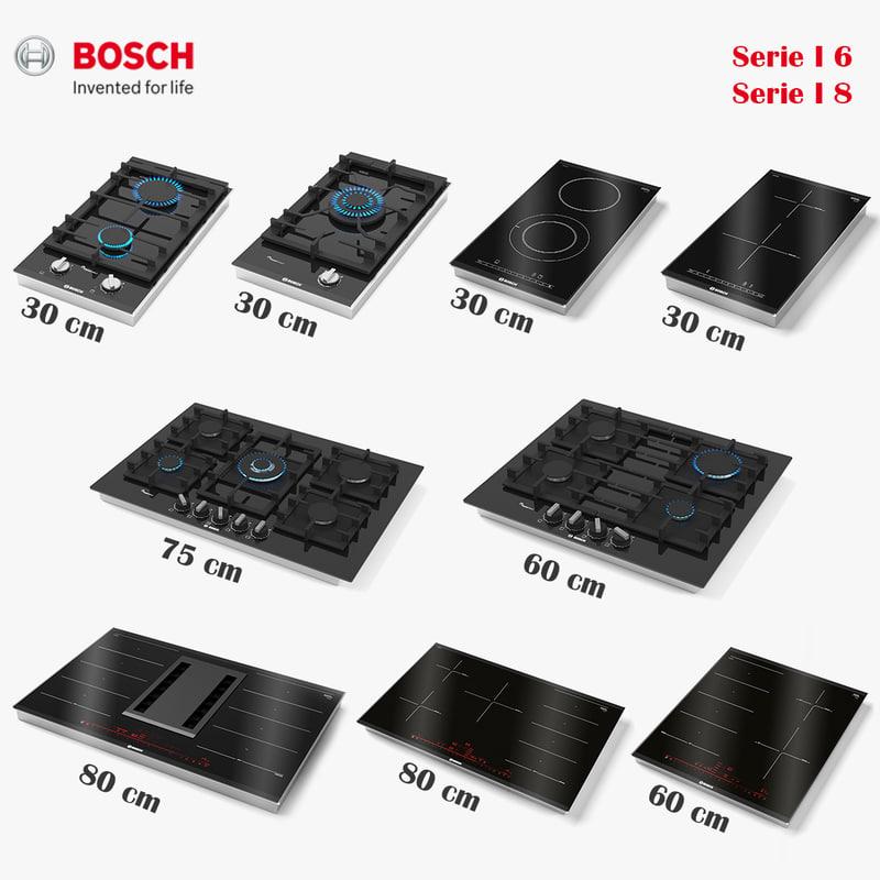 bosch hob 3D model