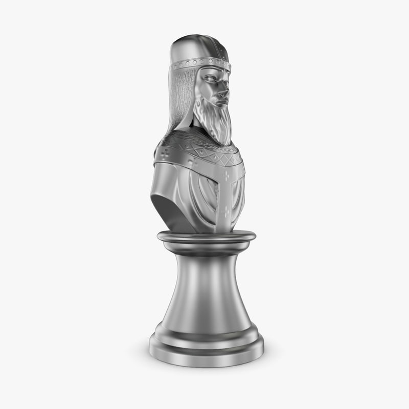 bishop chess realistic 3D