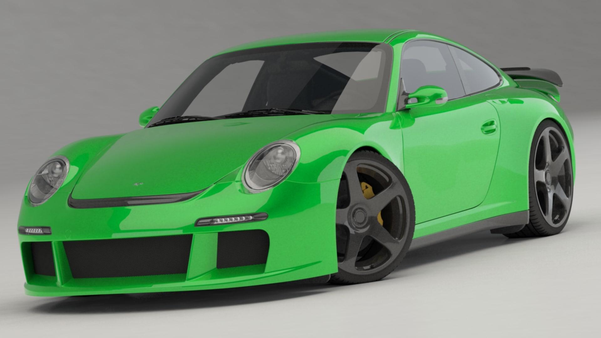 ruf rgt-8 2011 3D model