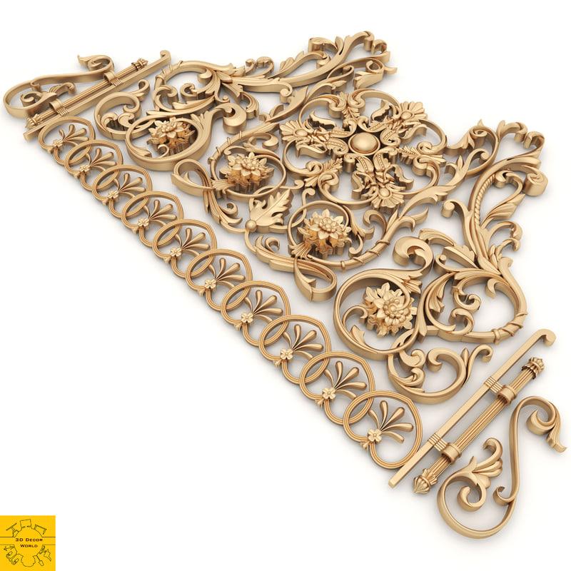 ornament decor 3D model