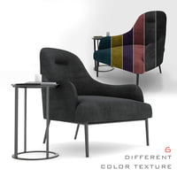 3D embrace chair