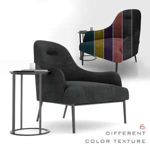 3D embrace chair