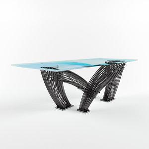 hystrix dining table model