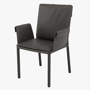 cattelan italia isabell chair 3D model