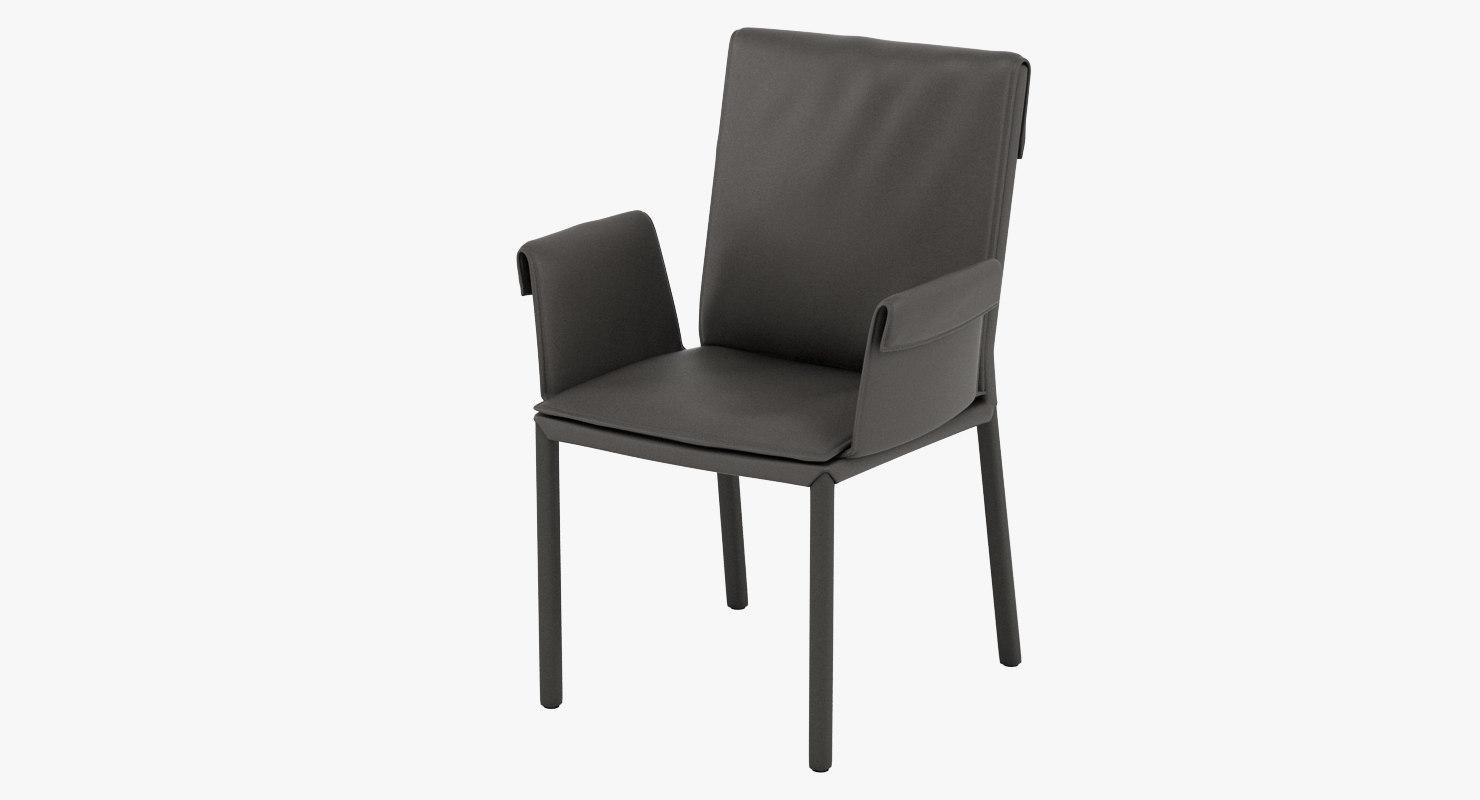 cattelan italia isabell chair 3D model