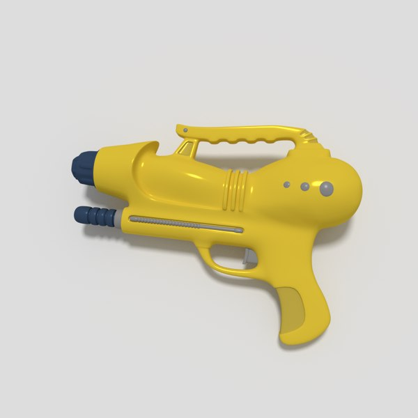 3D model toy gun