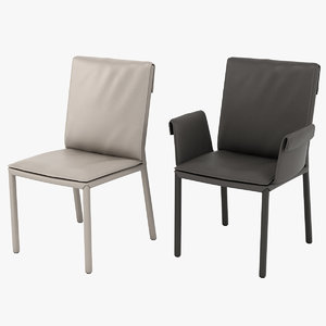cattelan italia isabell chair 3D