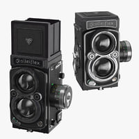 rolleiflex closed 2 8 3D model