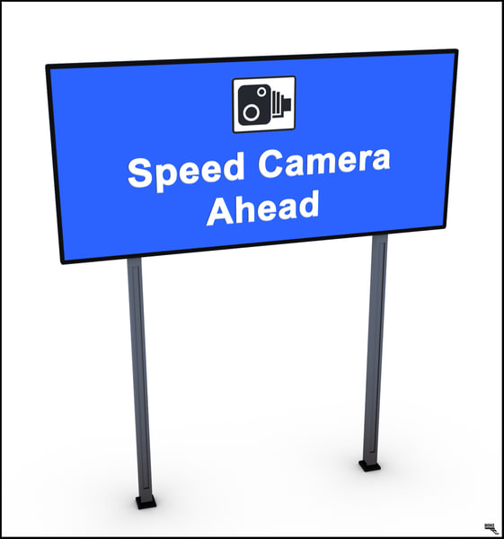speed traffic 3D model