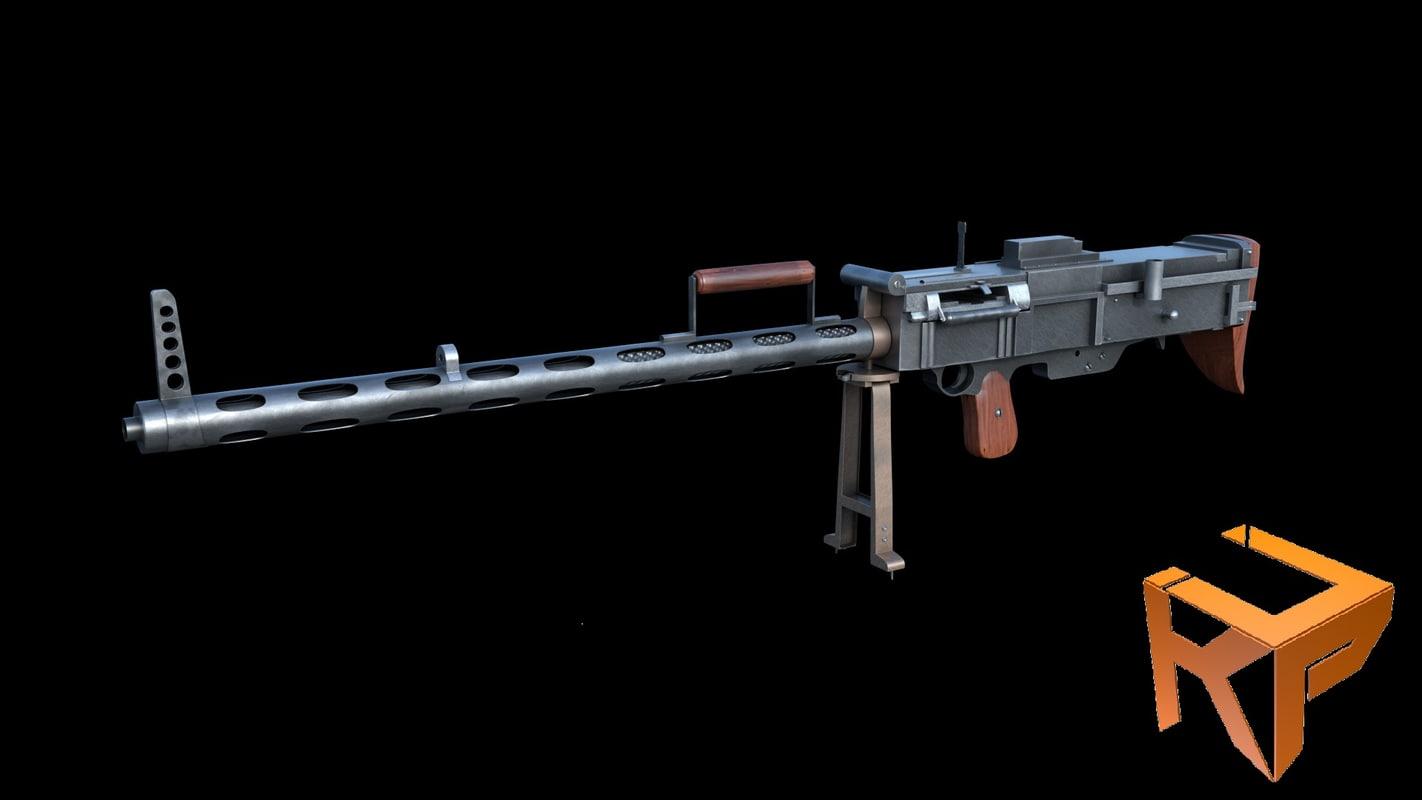 bergmann 1915 3D model