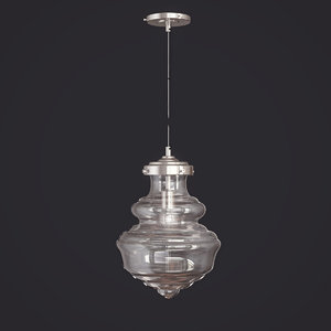 3D eve pendant crate barrel