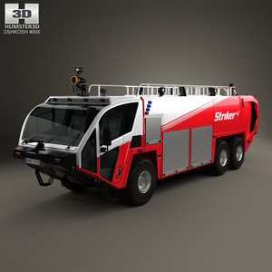 oshkosh striker 3000 3D