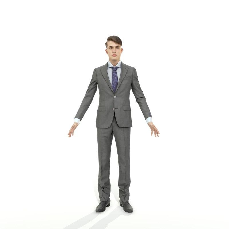axyz character human 3D