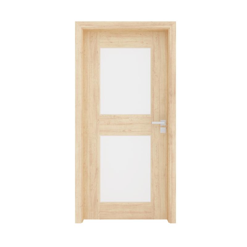3D model wooden interior door