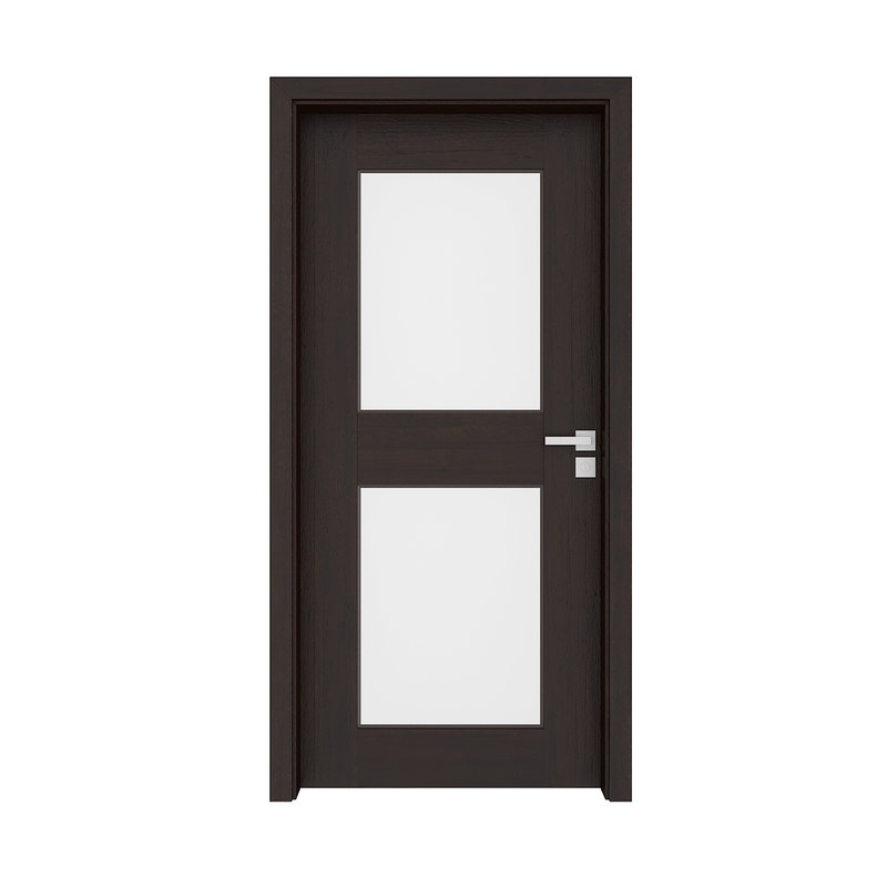 wooden interior door 3D model