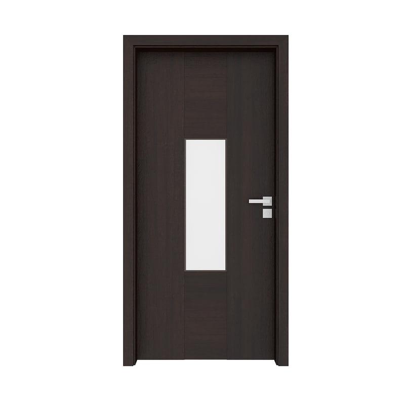 Wooden Interior Door Model Turbosquid 1191372