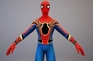 spider-man infinity war 3D model