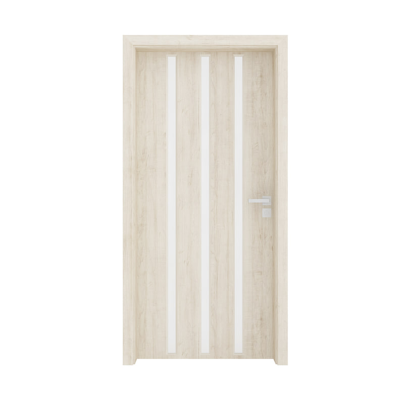 wooden interior door 3D model