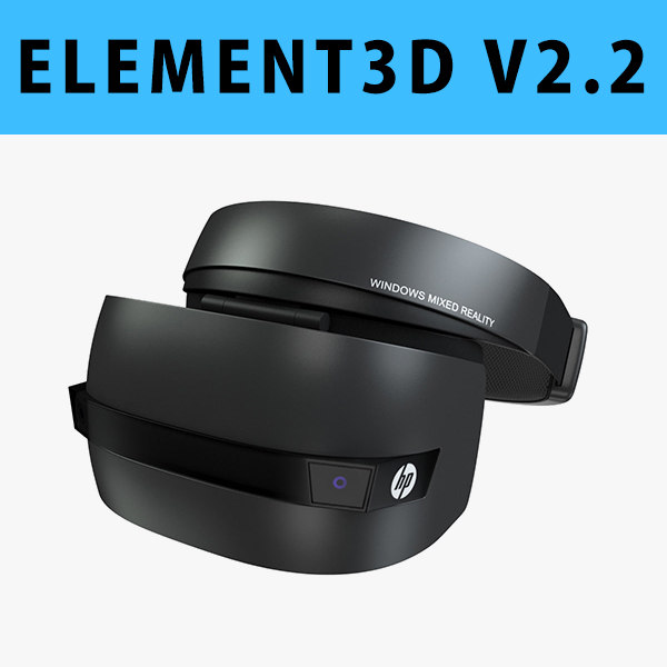 hp windows mixed reality 3D model