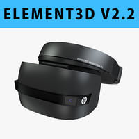 hp windows mixed reality 3D model