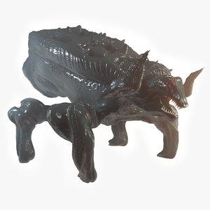 3D baneling bug model