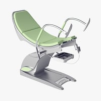 3D gynecological chair