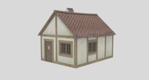 small house 3D model