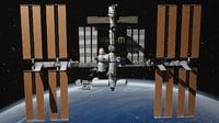 nasa international space model