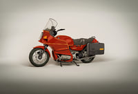 3D model touring motorcycle
