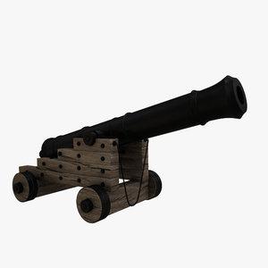 18 cannon 3D