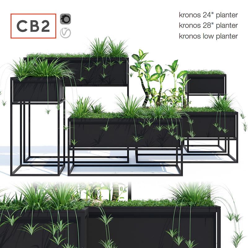 planters kronos 3D model