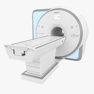 mrt scanner 3D model
