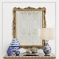 3D model lineatre mirror 185062