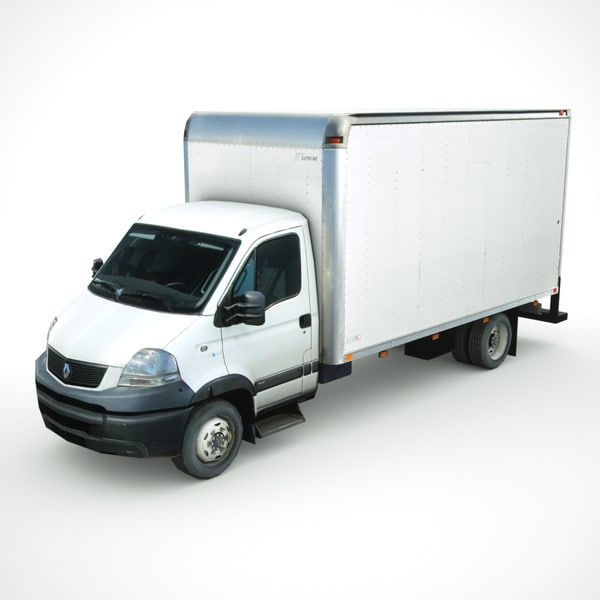 3D renault mascott 2010 cargo