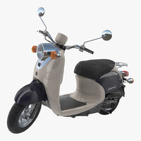 scooter motorcycle yamaha vino 3D