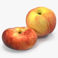peaches 3D model