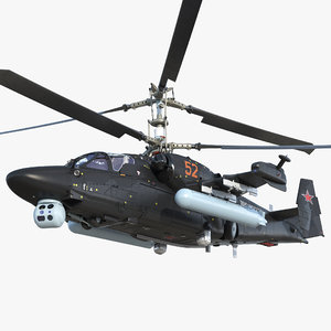 kamov ka52 black shark model