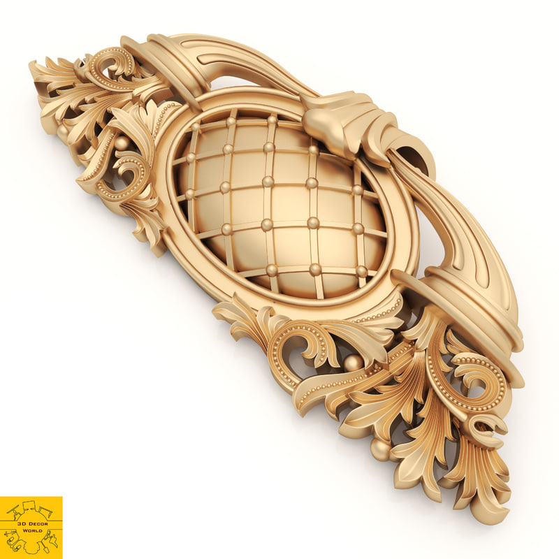 ornament decor 3D model